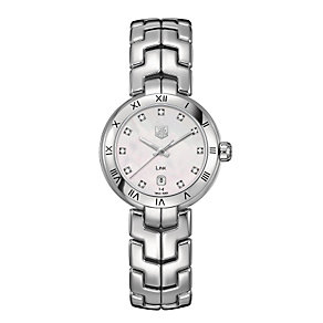 TAG Heuer Link ladies' diamond bracelet watch - Product number 9519874