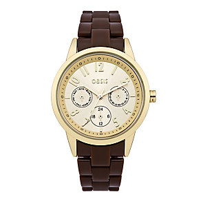 Exclusive Oasis Ladies' Chocolate Brown Bracelet Watch - Product number 9521879
