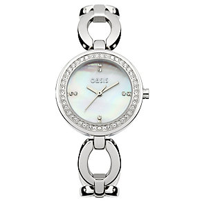 Oasis Ladies' Stone Set Bracelet Watch - Product number 9522859