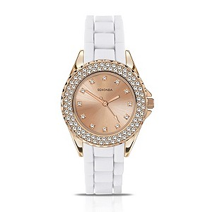 Sekonda Party Time Rose Gold & White Watch - Product number 9525947