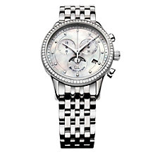 Maurice Lacroix ladies' diamond & stainless steel watch - Product number 9527753