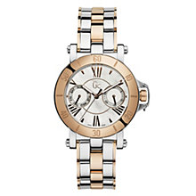 Gc ladies' mother of pearl dial two colour bracelet watch - Product number 9528318