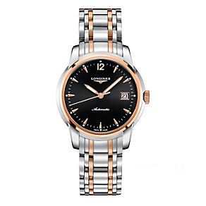Longines men's two colour bracelet watch - Product number 9528598