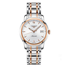 Longines men's two colour bracelet watch - Product number 9528601