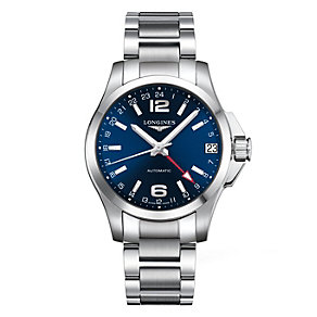 Longines Sport Conquest men's stainless steel bracelet watch - Product number 9528644