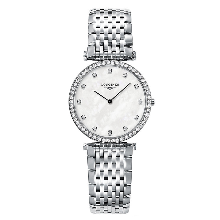 Longines La Grande Classique ladies' stainless steel watch - Product number 9528652
