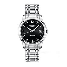 Longines men's stainless steel bracelet watch - Product number 9528679