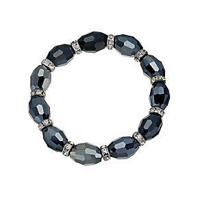Blue Facet Stretch Bracelet - Product number 9529063