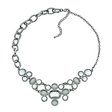 Moonstone Effect Collar Necklace - Product number 9529640