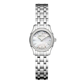 Hamilton mother of pearl & stainless steel bracelet watch - Product number 9530630