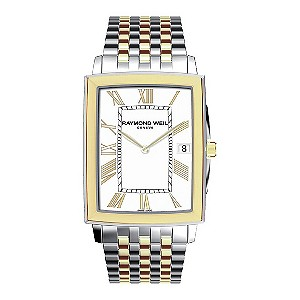 Raymond Weil stainless steel & gold-plated bracelet watch - Product number 9530711