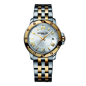Raymond Weil men's two colour bracelet watch - Product number 9530770