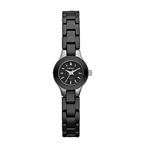DKNY Ceramic ladies' 20mm black ceramic bracelet watch - Product number 9531076