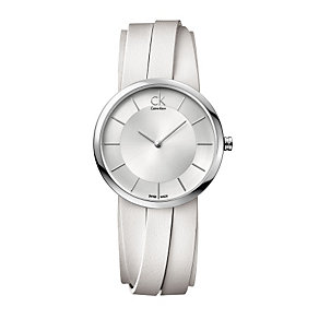 Calvin Klein Extent multi silver leather strap watch - Product number 9532129