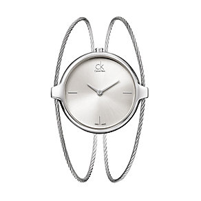 Calvin Klein Agile silver dial & stainless steel watch - Product number 9532277