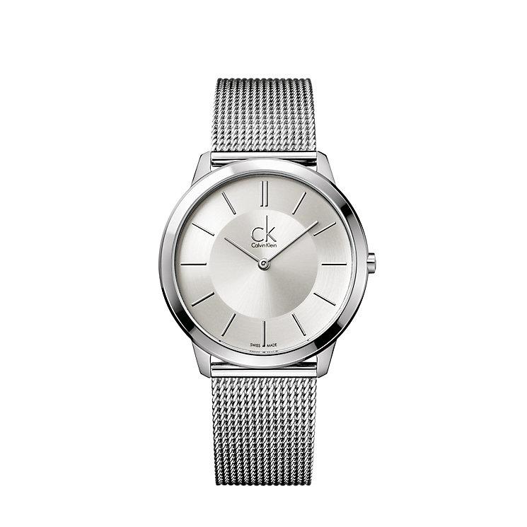 Calvin Klein Minimal men's stainless steel bracelet watch - Product number 9532285
