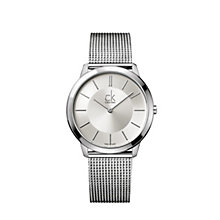 Calvin Klein Minimal men's stainless steel bracelet watch - Product number 9532285
