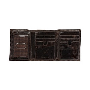 Fossil Flyby Sliding Brown Leather Wallet - Product number 9532420