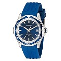 Accurist Sports Men's Blue Strap Watch - Product number 9534598