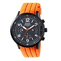 Accurist Sports Men's Black And Orange Strap Watch - Product number 9534652