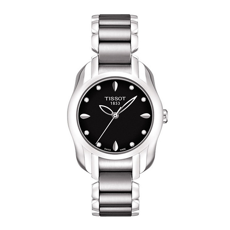 Tissot T Wave ladies' diamond set watch - Product number 9534695