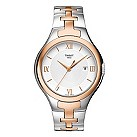 Tissot T-12 ladies' two colour bracelet watch - Product number 9535012