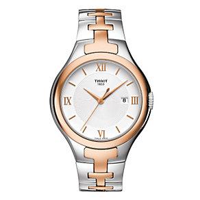 Tissot T-12 ladies' two colour bracelet watch - Product number 9535012
