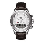 Tissot Touch Classic men's brown leather strap watch - Product number 9535047