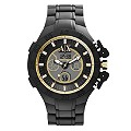 Armani Exchange Men's Detail Dial Black Rubber Strap Watch - Product number 9537104