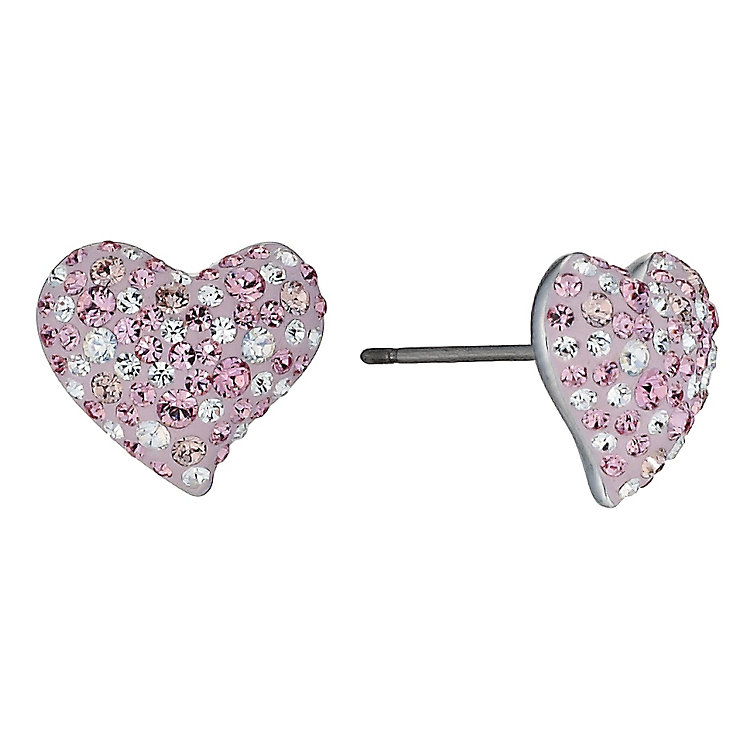 Swarovski Alana pink heart earrings - Product number 9537902