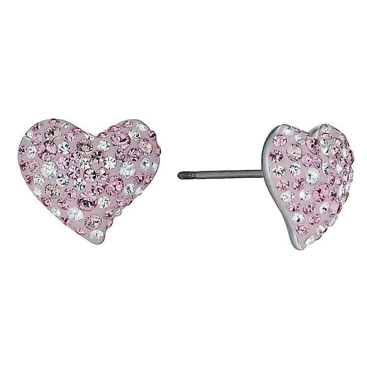 Swarovski Alana pink heart earrings - Product number 9537902