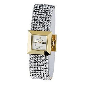 Swarovski Ellis mini crystal & gold case bracelet watch - Product number 9538100