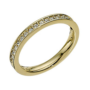 Swarovski Rare gold-plated ring - size L - Product number 9538577