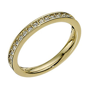 Swarovski Rare gold-plated ring - size Q - Product number 9538593
