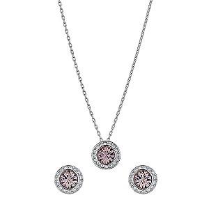 Swarovski Angelic vintage rose pendant and earrings set - Product number 9539190