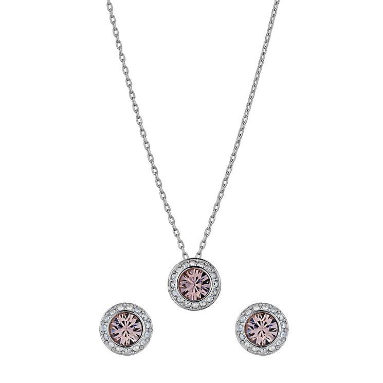Swarovski Angelic vintage rose pendant and earrings set - Product number 9539190