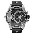 Diesel Only The Brave Men's Large Black Strap Watch - Product number 9540253