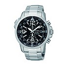 Seiko Solar exclusive men's stainless steel bracelet watch - Product number 9541284