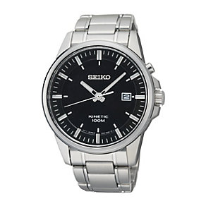 Seiko men's stainless steel automatic bracelet watch - Product number 9541462