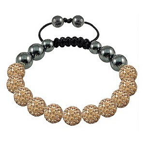 Tresor Paris Deauville gold crystal beaded bracelet - Product number 9544550