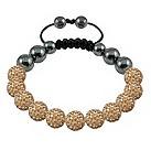 Tresor Paris Deauville gold crystal beaded bracelet - Product number 9544550