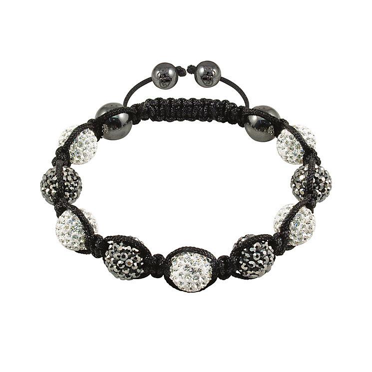 Tresor Paris St Germain grey & white crystal bracelet - Product number 9544607