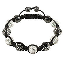 Tresor Paris St Germain grey & white crystal bracelet - Product number 9544607