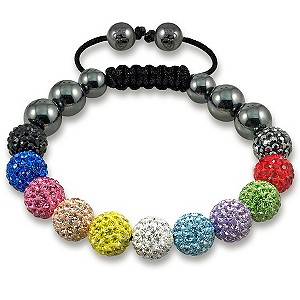 Tresor Paris Arc-En-Ciel multi coloured crystal bracelet - Product number 9544631