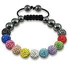 Tresor Paris Arc-En-Ciel multi coloured crystal bracelet - Product number 9544631