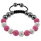 Tresor Paris Montaigu white & pink crystal bracelet - Product number 9544658