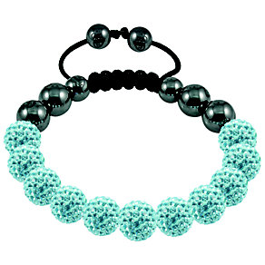 Tresor Paris Arles light blue crystal beaded bracelet - Product number 9544666