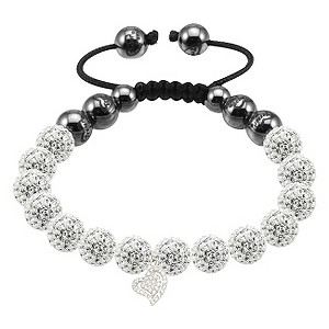 Tresor Paris Caestre white crystal heart charm bracelet - Product number 9544747