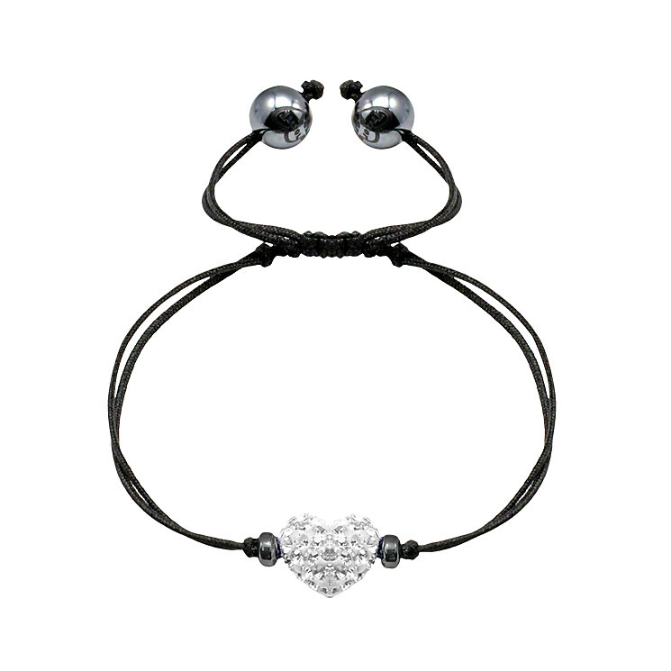 Tresor Paris white heart crystal bracelet - Product number 9545603