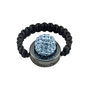 Tresor Paris Moncy light blue crystal ring size small - Product number 9546405